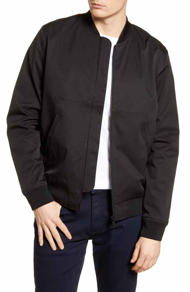 Topman Iconic Classic Bomber Jacket - Best Valentines Day Gifts for Him