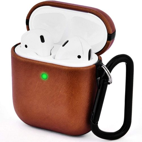stocking stuffer ideas - V-MORO AirPods Leather Carrying Case