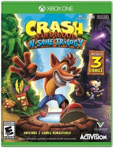 xbox game crash bandicoot