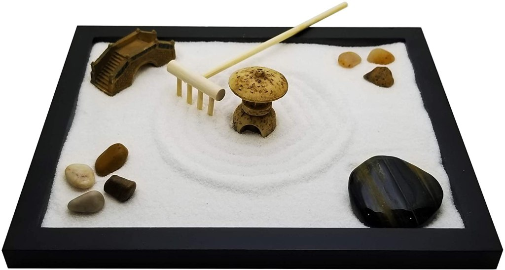 hostess gift ideas, sand zen garden