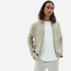 Everlane Linen Standard Fit Shirt