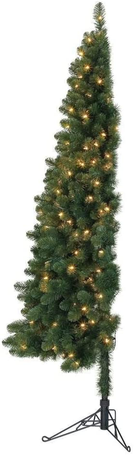 Home Heritage Half Christmas Tree