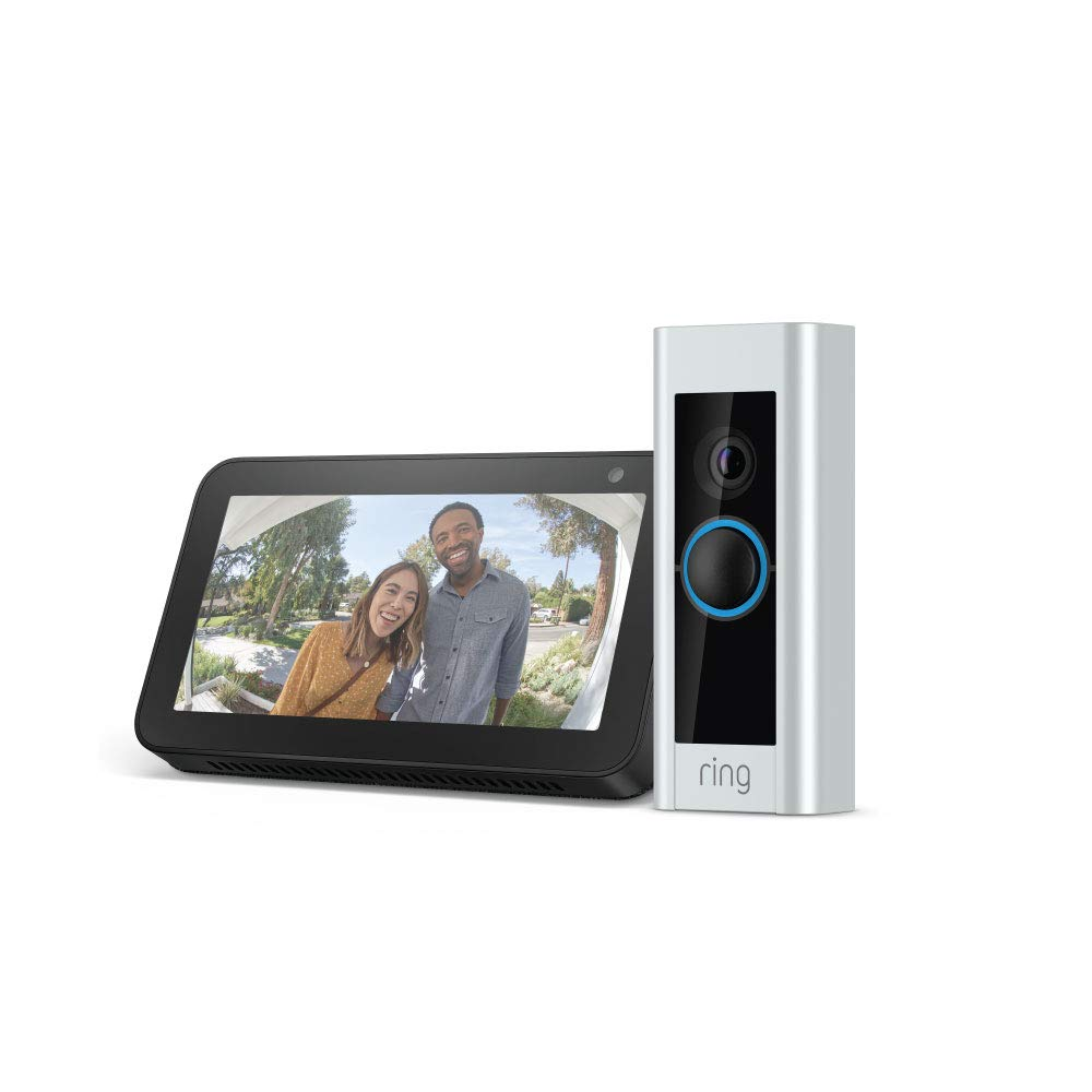 Ring video door bell echo show 5 bundle