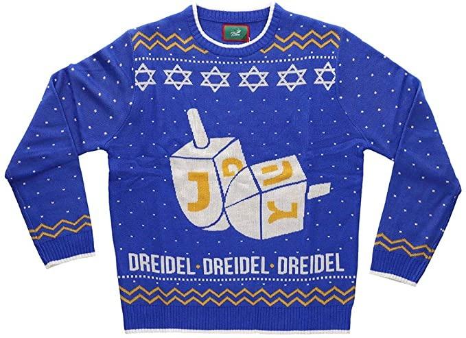 Dreidel Hanukkah Ugly Sweater