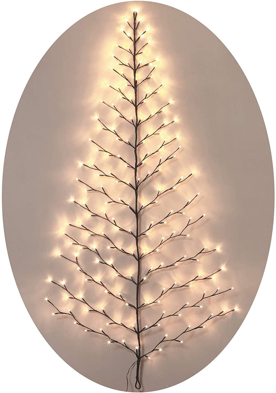 TenWaterloo Lighted Christmas Wall Tree