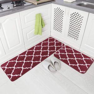 kitchen rug set washable