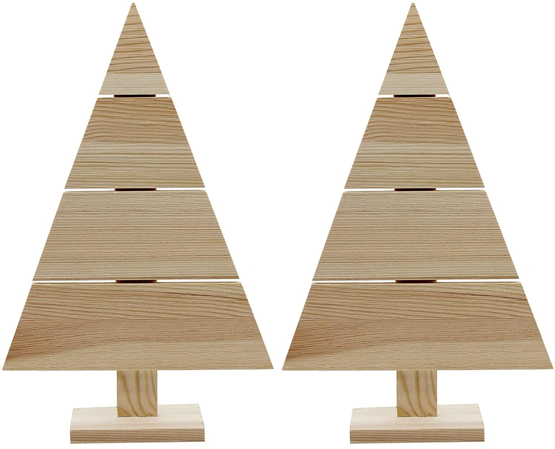 Creative Hobbies Standing Wood Pallet Christmas Tree