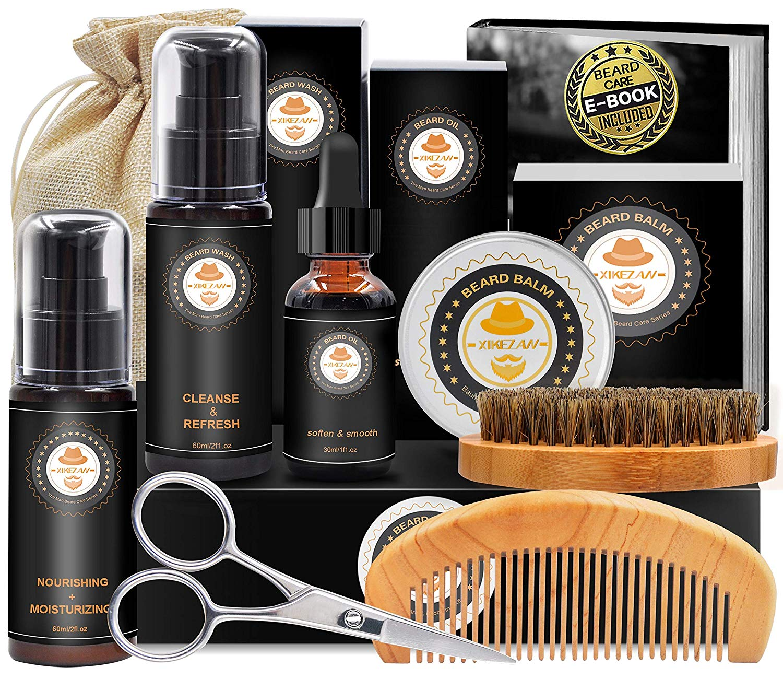 best last minute gift ideas, macho beard gift set