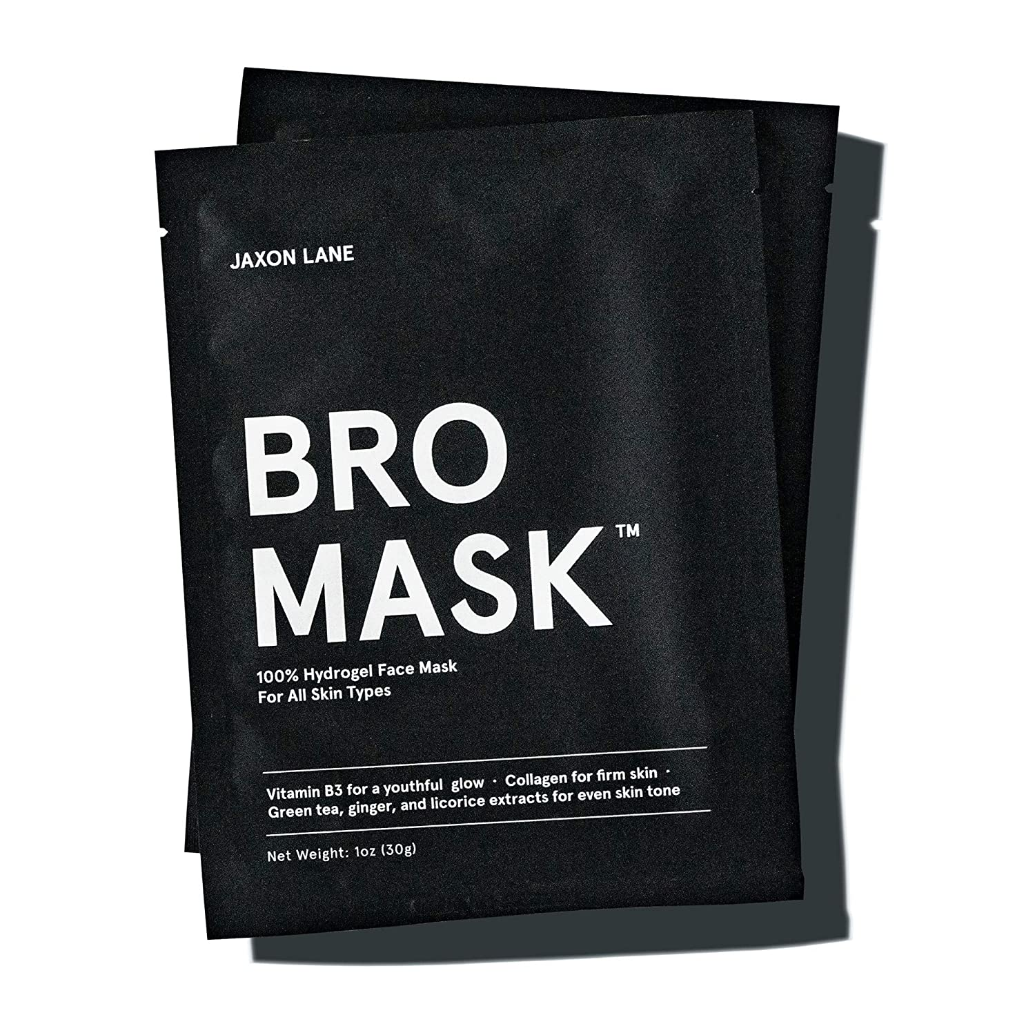 jaxon lane bro mask for men, anti-aging sheet masks