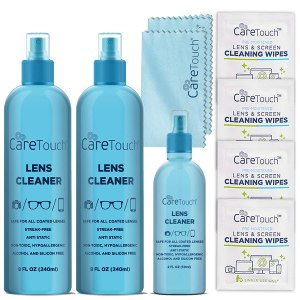 glasses cleaner care touch alcohol free cleaner
