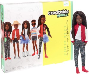 Creatable World gender-neutral dolls kit - best toy for kids learning about INCLUSIVITY