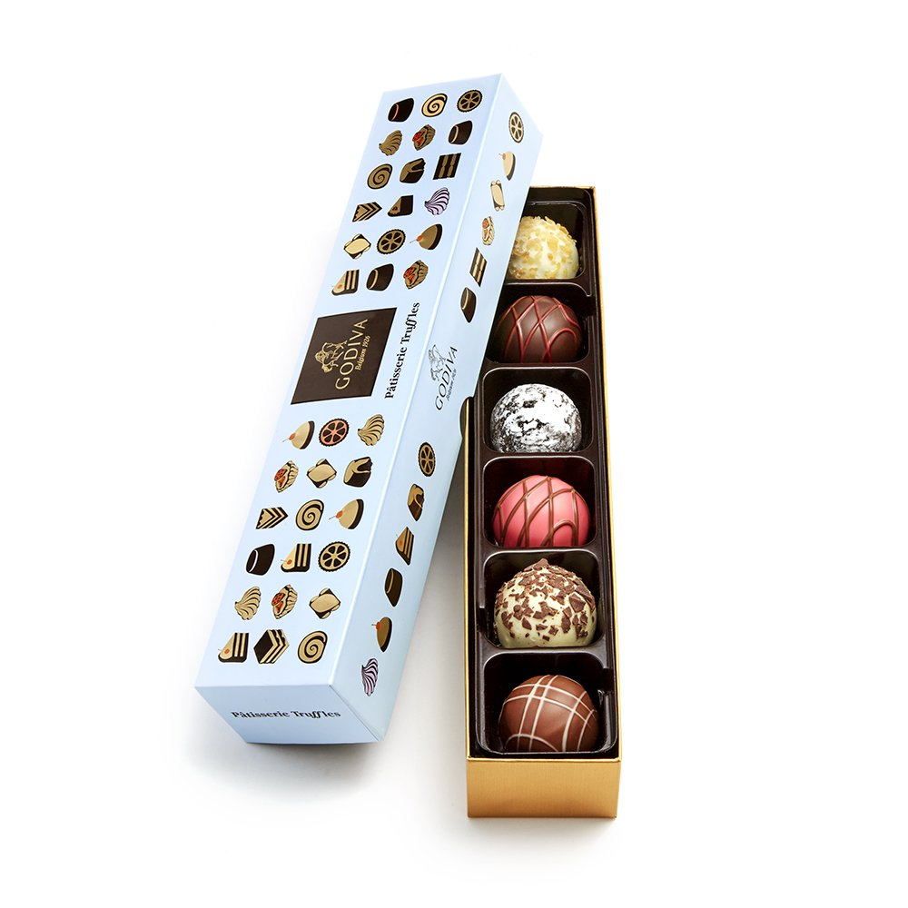 Godiva Chocolatier Patisserie Chocolate Truffle Flight Box