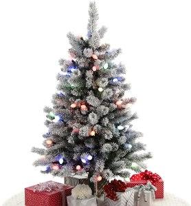 artificial christmas tree hallmark keepsake