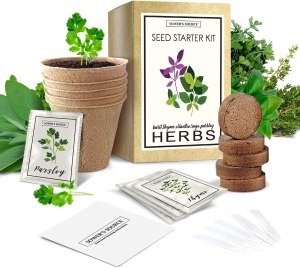 Sower's Source Indoor Herb Garden Starter Kit
