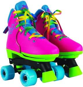 Jojo Siwa Circle Society Rainbow Roller Skates, best for active kids
