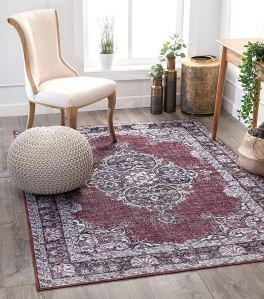 oriental rug red washable