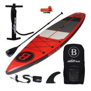 Bright Blue Fusion Inflatable Stand Up Paddle Board