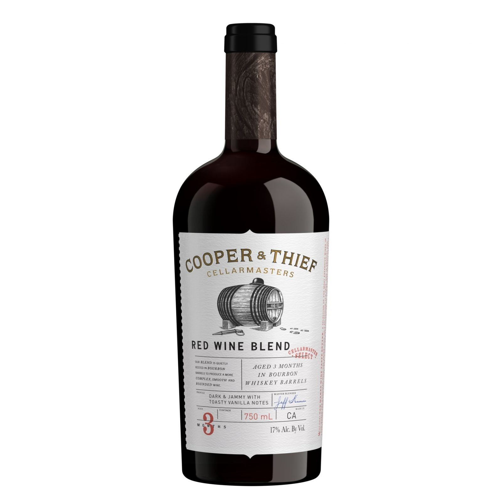 Cooper and Thief Bourbon Barrel Aged Red Blend Red Wine - Best Gifts Under $100