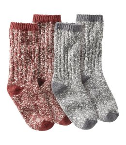 Christmas socks cotton ragg