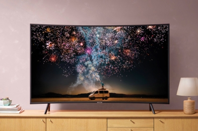 curved tv samsung