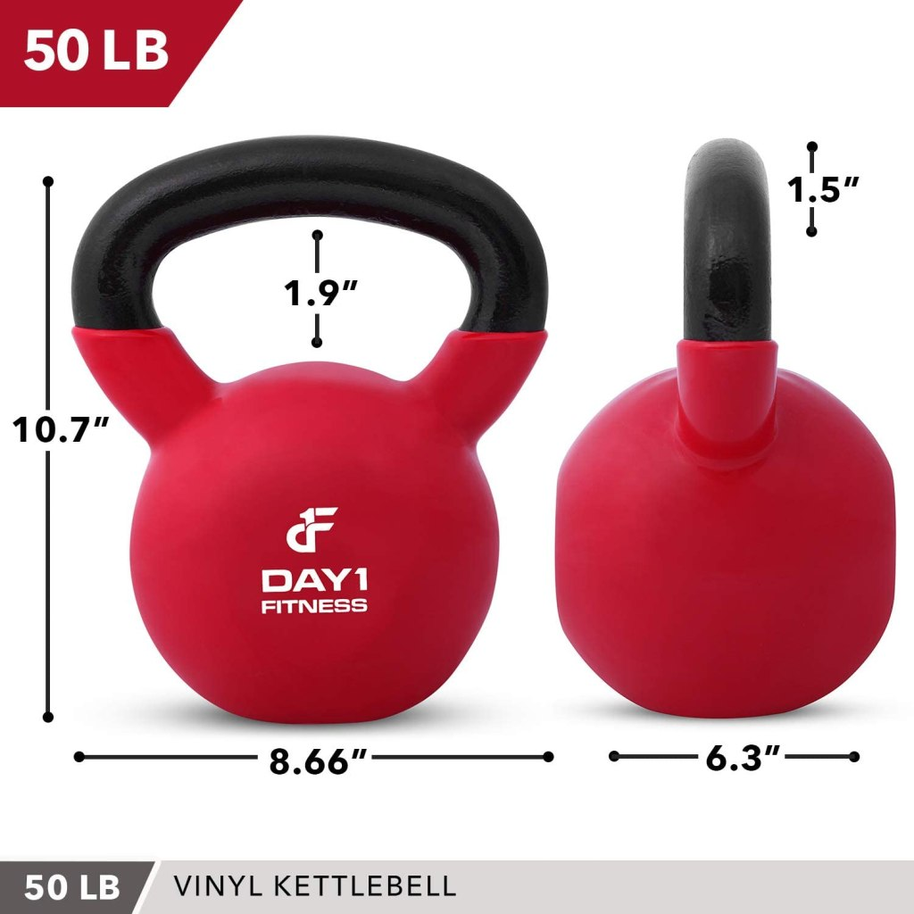 best kettlebells - day1 fitness 50 pound