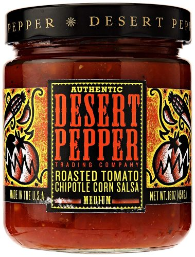 Desert Pepper Trading Company Roasted Tomato Chipotle Salsa