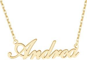 Dreamdecor Name Necklace