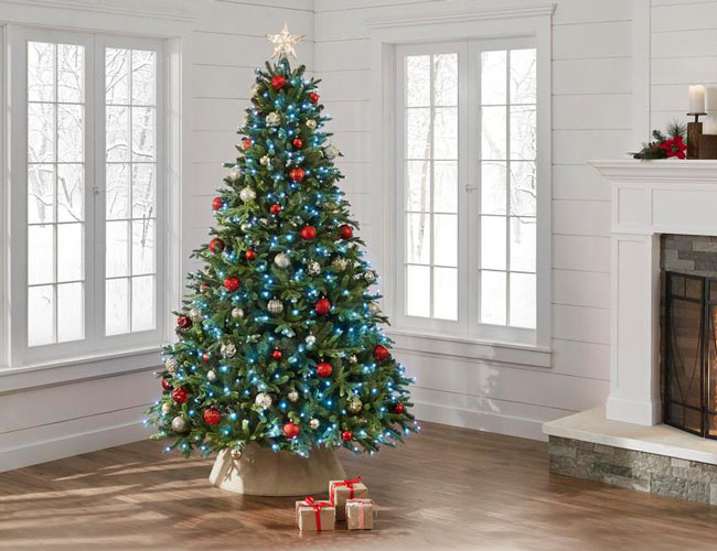 Fully Decorated Christmas Trees For Sale  from spy.com