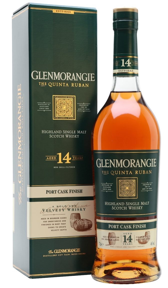 Glenmorangie The Quinta Ruban 14 Year-Old Whisky - Best Gifts Under $100