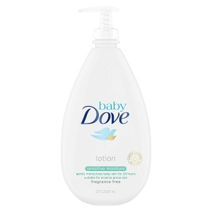 best unscented lotions baby dove