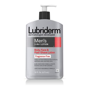 unscented lotion lubriderm for men