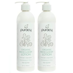 unscented lotion puracy organic
