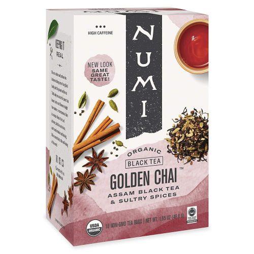 Numi Organic Tea Golden Chai