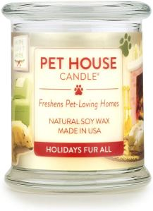 One Fur All 100% Natural Soy Wax Candle