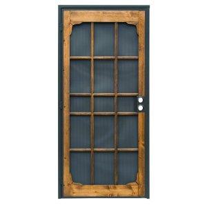 Prime-Line Woodguard Steel Security Door