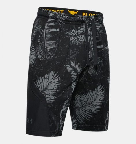 Under Armour Project Rock Terry Printed Athletic Shorts