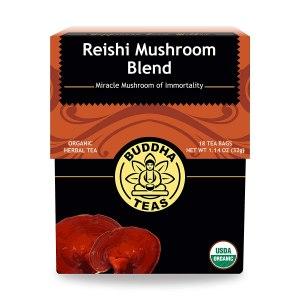 reishi mushroom blend buddha tea, detox tea, best detox tea
