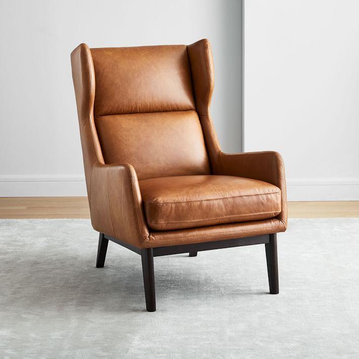west elm reading chair
