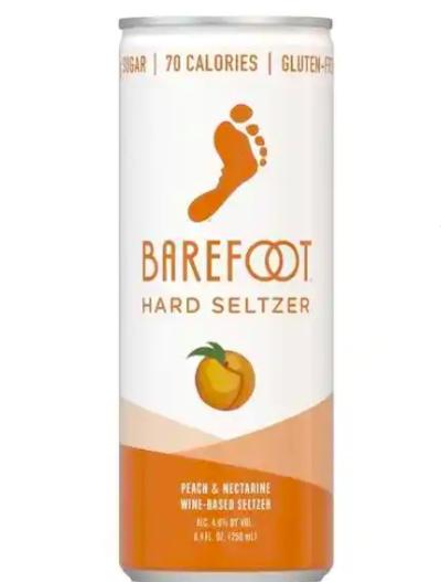 Barefoot Hard Seltzer Peach & Nectarine