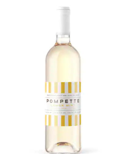 Pompette Lemon Mint Hard Sparkling Water