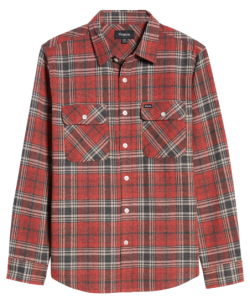 Brixton Red Flannel Shirt