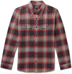 Filson Red Flannel Shirt
