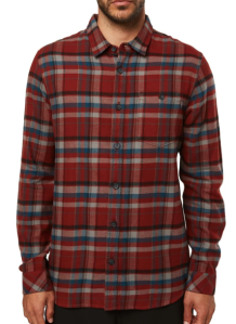 O'Neill Red Flannel Shirt