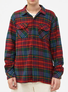 Engineered Garments Red Flannel Shirt