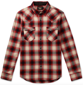 RRL Red Flannel Shirt