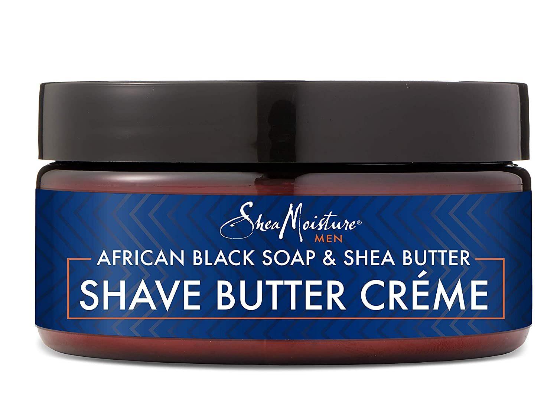 Shea Moisture african black soap men's shave butter creme