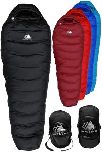 cold weather sleeping bags hyke byke