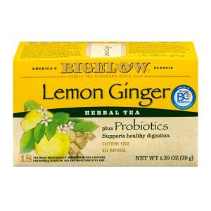 best tea bigelow lemon ginger