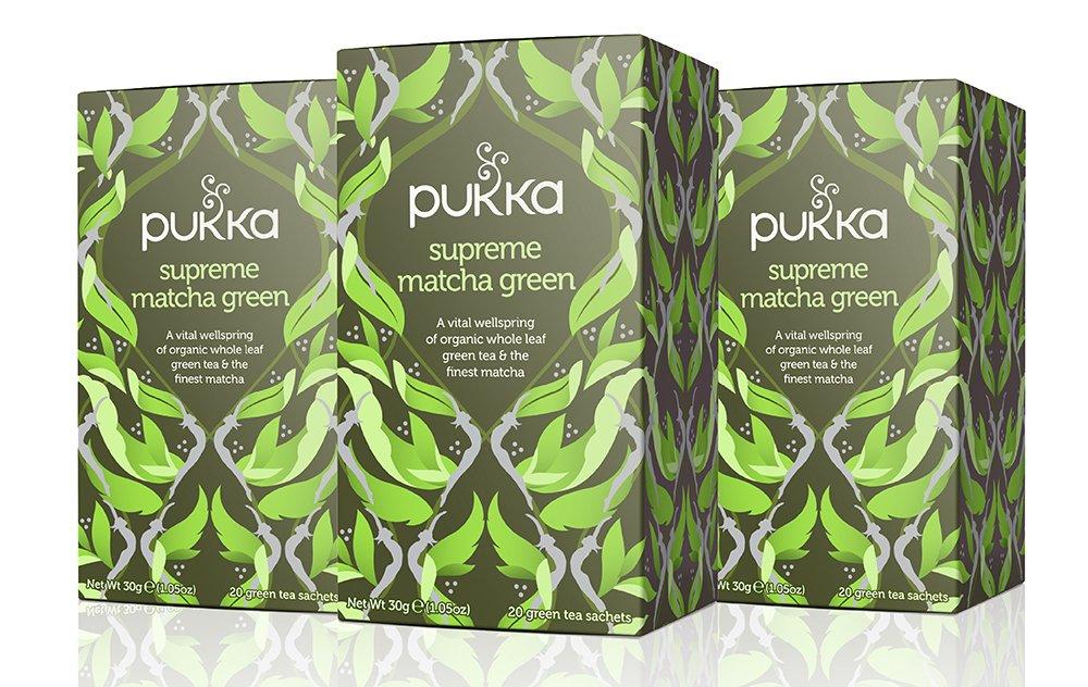 best tea pukka green
