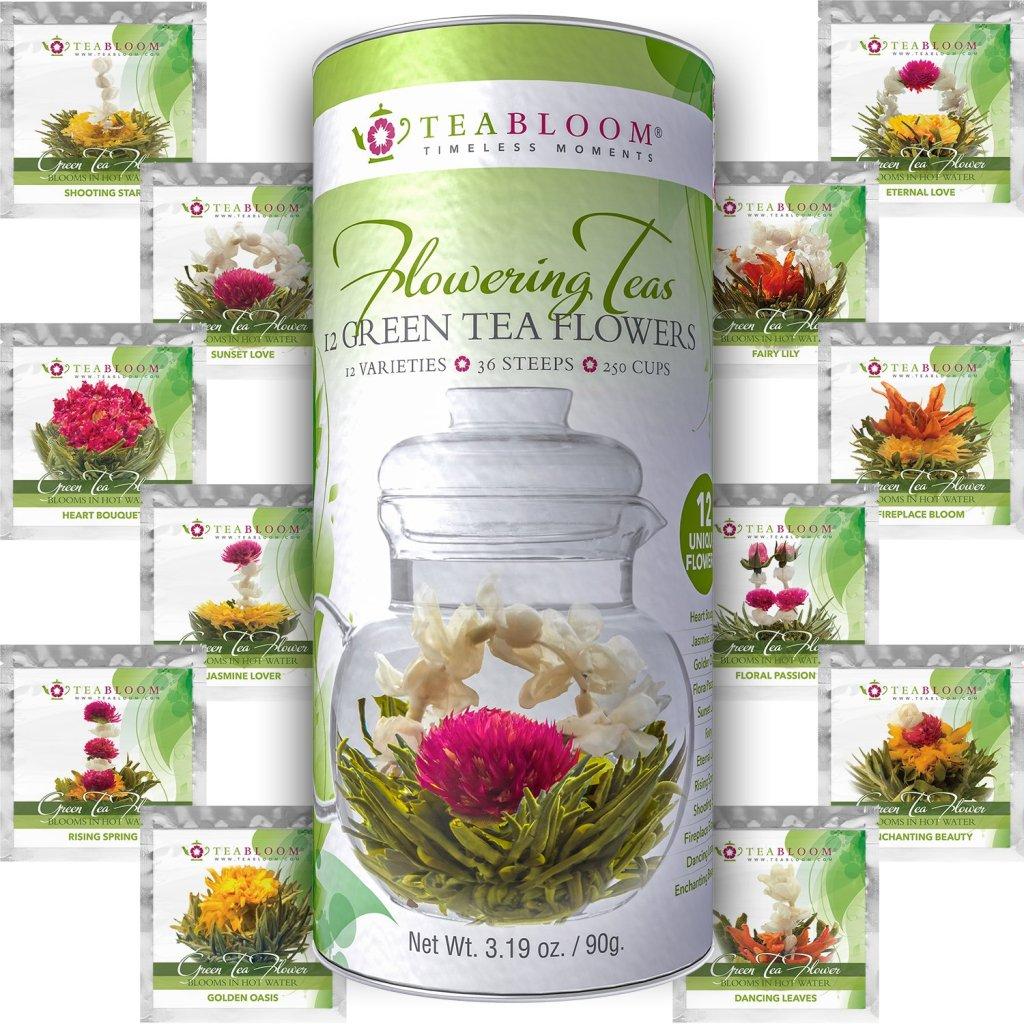 best tea blooming